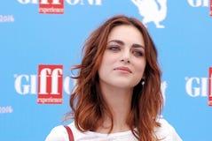 Miriam Leone  at Giffoni Film Festival 2016. Giffoni Valle Piana, Sa, Italy - July 19, 2016 : Miriam Leone  at Giffoni Film Festival 2016 - on July 19, 2016 in Royalty Free Stock Image