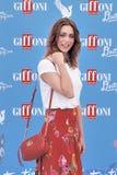Miriam Leone  at Giffoni Film Festival 2016 Royalty Free Stock Photos