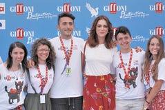 Miriam Leone  at Giffoni Film Festival 2016 Royalty Free Stock Photography