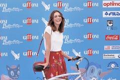 Miriam Leone  at Giffoni Film Festival 2016 Royalty Free Stock Image