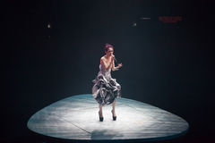 Miriam Yeung Concert 2015 Stock Photo