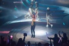 Miriam Yeung Concert 2015 Stock Images