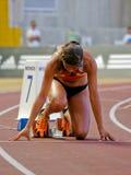 Mirian Tavares (ACDRA) femmes de 400 mètres Image libre de droits