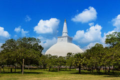 Mirisavatiya Dagoba Stupa,阿努拉德普勒,斯里兰卡 库存图片