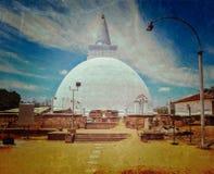 Mirisavatiya Dagoba (stupa) in Anuradhapura, Sri Lanka Stock Photos