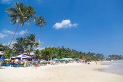 Mirissa海滩在斯里兰卡 库存图片