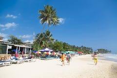 Mirissa海滩在斯里兰卡 库存照片