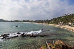Mirissa beach at Sri Lanka Stock Photo