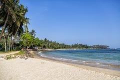 Mirissa beach at Sri Lanka Royalty Free Stock Photography
