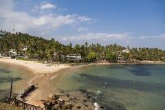 Mirissa beach at Sri Lanka Royalty Free Stock Photo