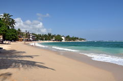 Mirissa beach, unawatuna Stock Image