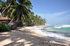Mirissa beach, unawatuna Stock Photography