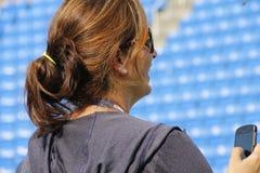 Mirka Federer Foto de Stock Royalty Free