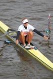 Mirka Knapkova - 100a raza del rowing de Primatorky Fotos de archivo libres de regalías