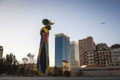 Miro sculpture in Miro park Stock Images