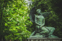 Mirogoj公墓雕象 免版税库存照片