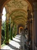 Mirogoj arcade, Zagreb Royalty Free Stock Photography