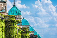 Mirogoj cemetery in capital city of Croatia, Zagreb. Stock Photo
