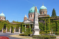 Mirogoj cemetery, Zagreb Stock Photo