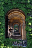 Mirogoj cemetery in Zagreb. Arcades Stock Photography