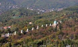 Mirogoj cemetery in Zagreb Stock Images