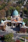 Mirogoj cemetery in Zagreb Royalty Free Stock Photos