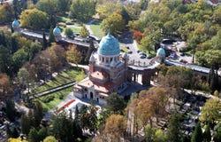 Mirogoj cmentarz w Zagreb Fotografia Royalty Free