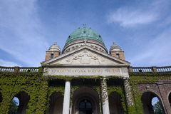 Mirogoj main dome Stock Photos