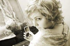 Miroir Photo stock