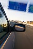 Miroir arrière Image stock