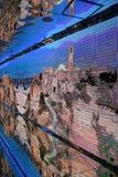 Miroir au pavillon italien à l'expo 2015 en Milan Italy Photos stock