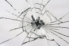 Miroir cassé Photographie stock libre de droits