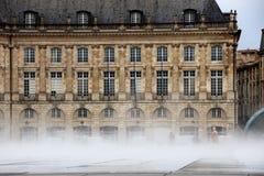 Miroir d`eau at Bordeaux Stock Image
