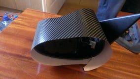 Miroir d'enveloppe du carbone 4d de Rover 45 Image libre de droits