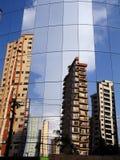 Miroir de construction Photos libres de droits