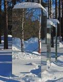 miroir de construction Images stock