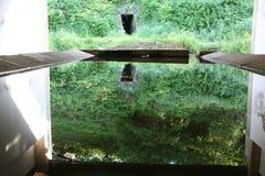 Miroir de l'eau Image libre de droits