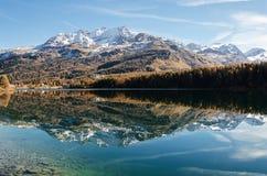 Miroir de montagne Photographie stock libre de droits
