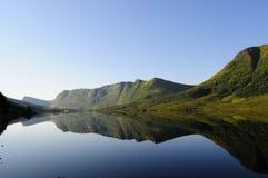 Miroir de montagne Photo libre de droits
