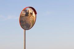 Miroir de route de rue Photos libres de droits