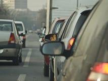 Miroir de véhicule Images libres de droits