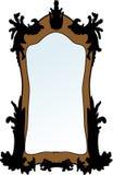 Miroir de vecteur Photographie stock libre de droits