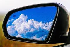 Miroir de voiture Photo libre de droits