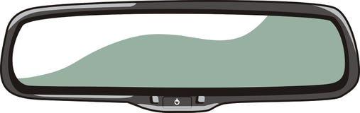 Miroir de voiture Photos stock