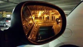 Miroir de voiture Image libre de droits