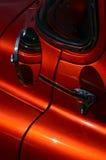 Miroir de voiture latéral de vue arrière images libres de droits
