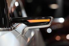 Miroir de vue arrière futuriste de Ssangyong XLV Photo stock