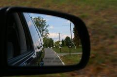 Miroir de vue de côté Photo libre de droits