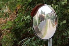 Miroir du trafic Photos libres de droits
