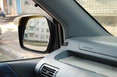 Miroir rétroviseur Image stock